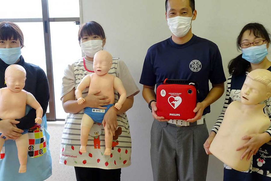2020年7月17日 救急救命講習を実施しました