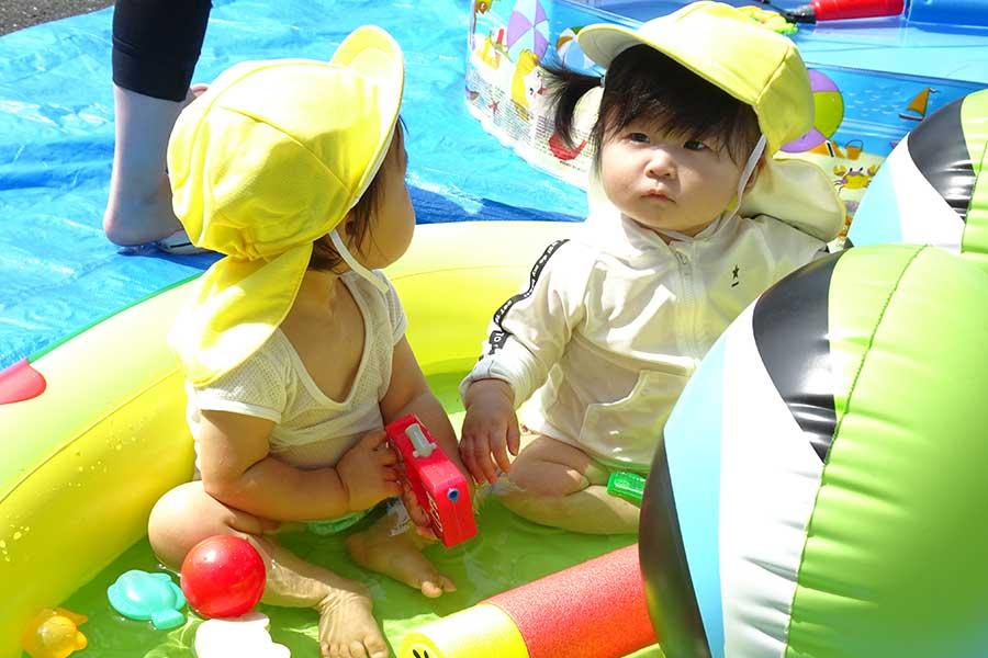 夏の思い出「水遊び」