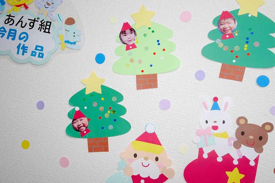 2020年12月の制作と花だより 〜 保育園はクリスマス一色です 〜